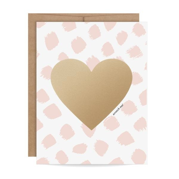 Pink Bundle of Love Scratch-off Card