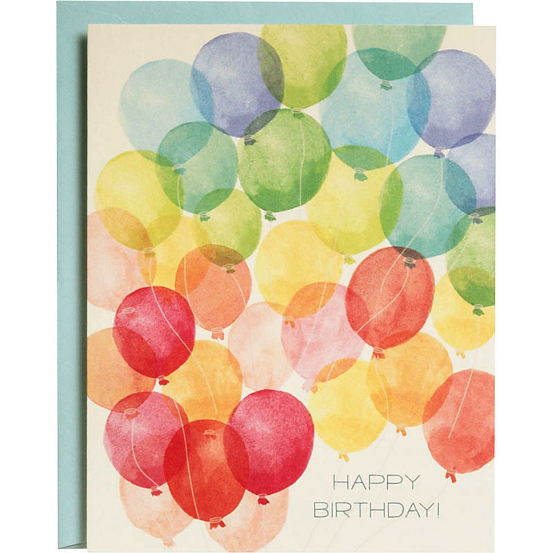 Boxed Cards - Birthday Balloons
