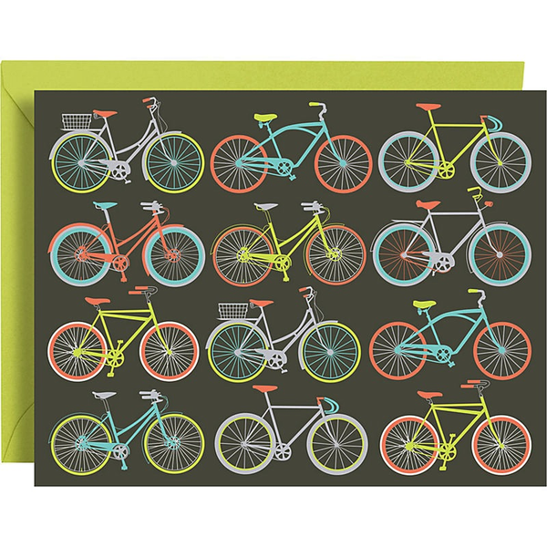 Boxed Cards - Ride on Bikes