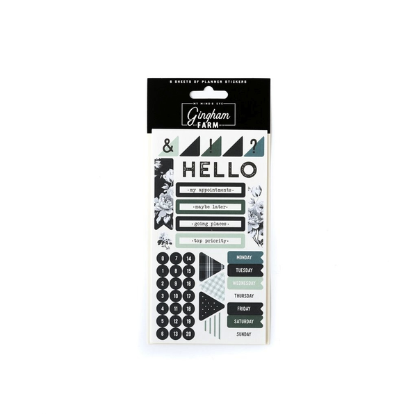 Gingham Farms Planner Sticker Set