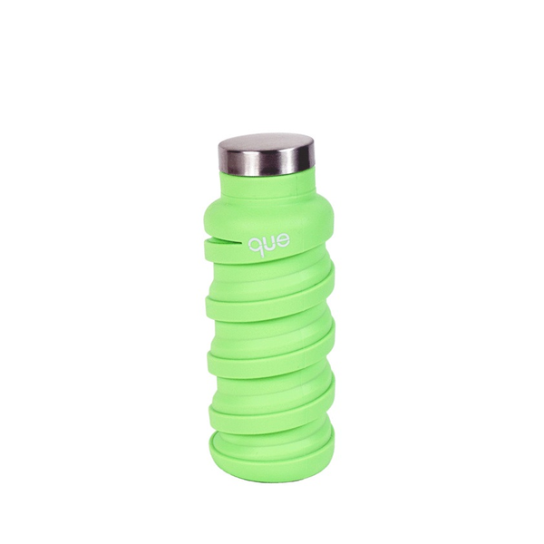 Que Bottle 12 oz Green