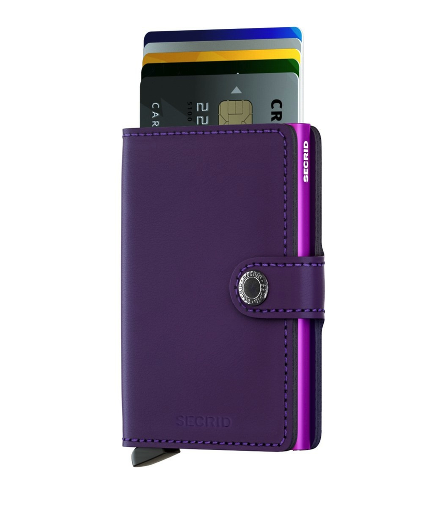MINI Wallet - matte purple