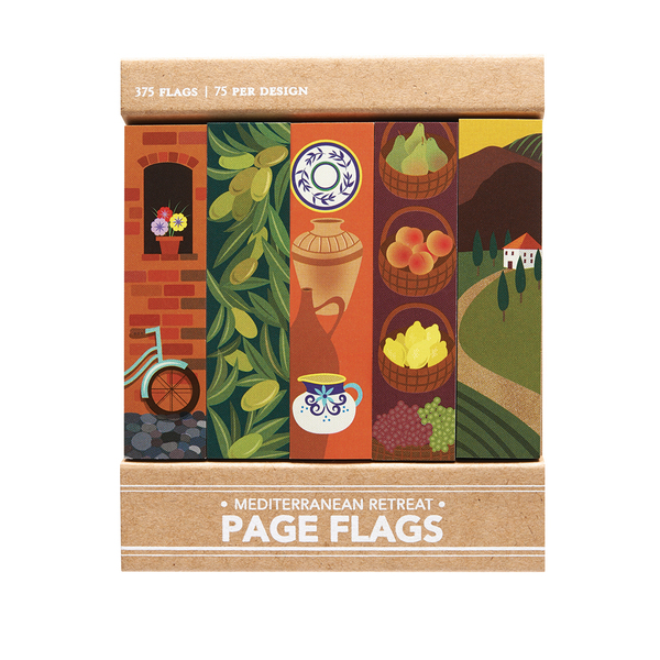 Mediterranean Retreat - Page Flags