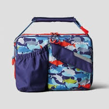 Planet Box Carry Lunch Bag - Camo Sharks