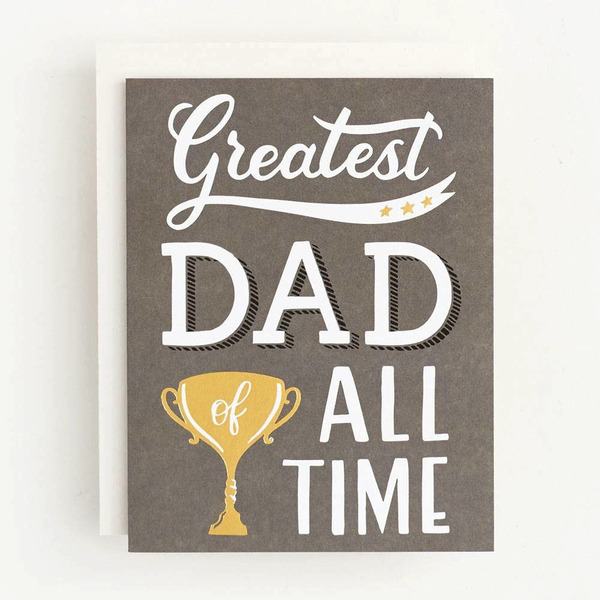 Greatest Dad of All Time Card