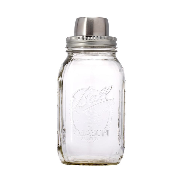 W&P Design - The Mason Shaker - Silver