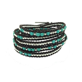 """True friends are a gift"" 5 Wrap Bracelet"