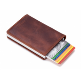 Slim Wallet - Vintage Brown
