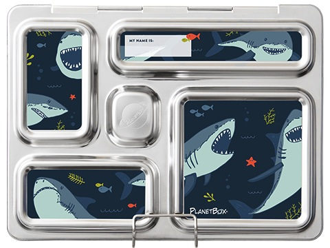 Rover Lunchbox Magnets - Sharks