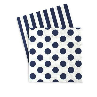 Cocktail Napkins - Navy