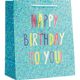 Birthday Confetti Foil Medium Bag