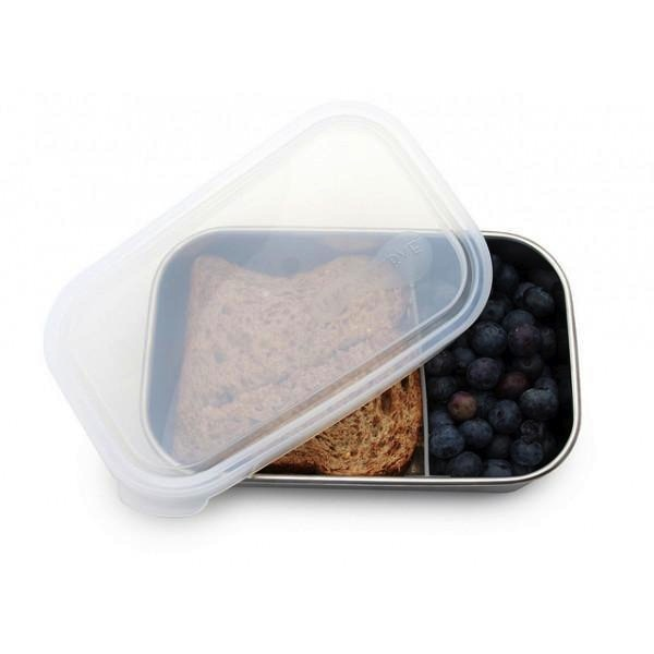 25oz 740ml Divided Rectangle Container - Clear