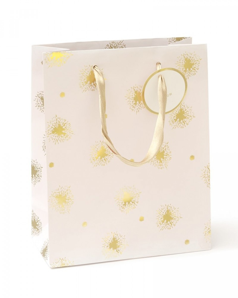 Blush & Gold Splatter Small Gift Bag