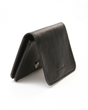 Vegan Leather Card Holder - Black