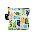 Colibri Large Snack Pouch - Owls