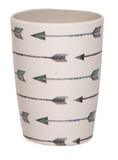 Bamboo 4pc Pack Tumblers - Arrows and Feathers
