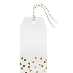 Confetti Foil Hang Tags