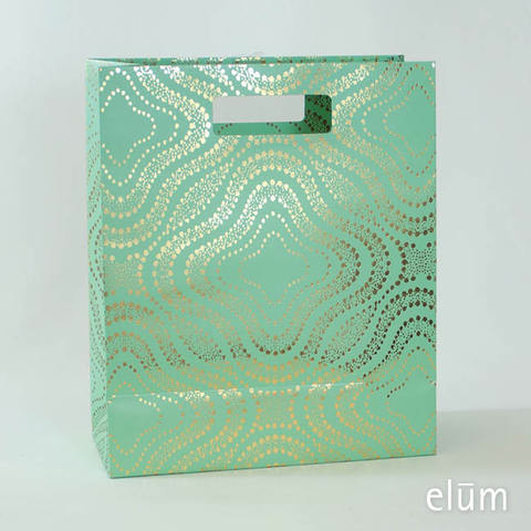 Gift Bag - Tortoise (Mint / Foil )