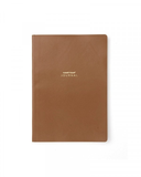 CAMEL VEGAN LEATHER A5 JOURNAL