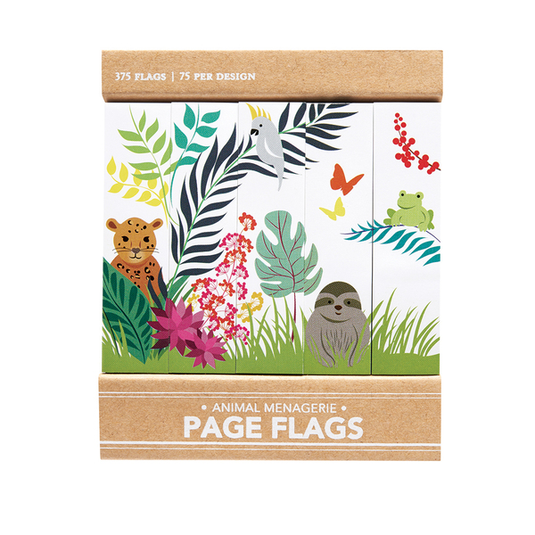Animal Menagerie - Page Flags