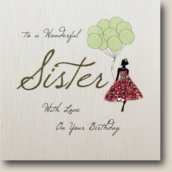 To My Wonderful Sister