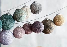 Sparkle Ball Ornament Cool Tone - Large