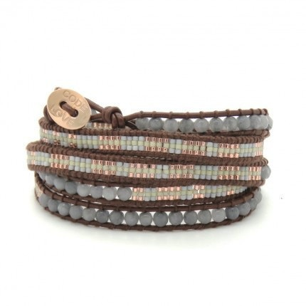 'MOTHER' SEED 5 Wrap Bracelet