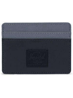 CHARLIE WALLET - REFLECTIVE BLACK/SILVER