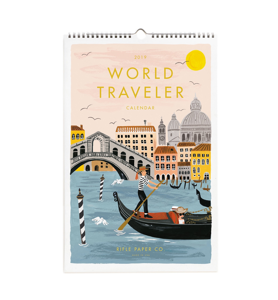 Rifle - 2019 World Traveler Wall Calendar