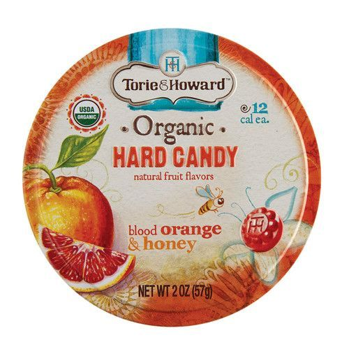 Organic Hard Candy Tin - Orange & Honey