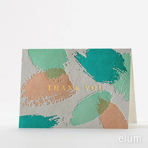 Boxed Thank You Cards - Palette