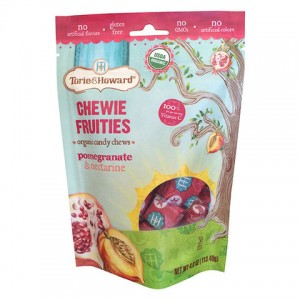 Torie & Howard - Organic Fruit Chew Candy - Pomegranate & Nectarine
