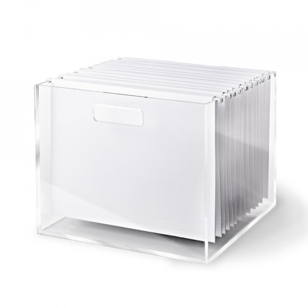 Acyrlic File Box