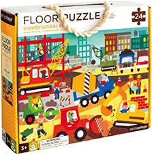FLOOR PUZZLE - CONSTRUCTION SITE