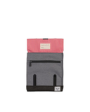 Survey Backpack | Kids - Barbados Cherry Crosshatch/Mid Grey Crosshatch/Black Crosshatch