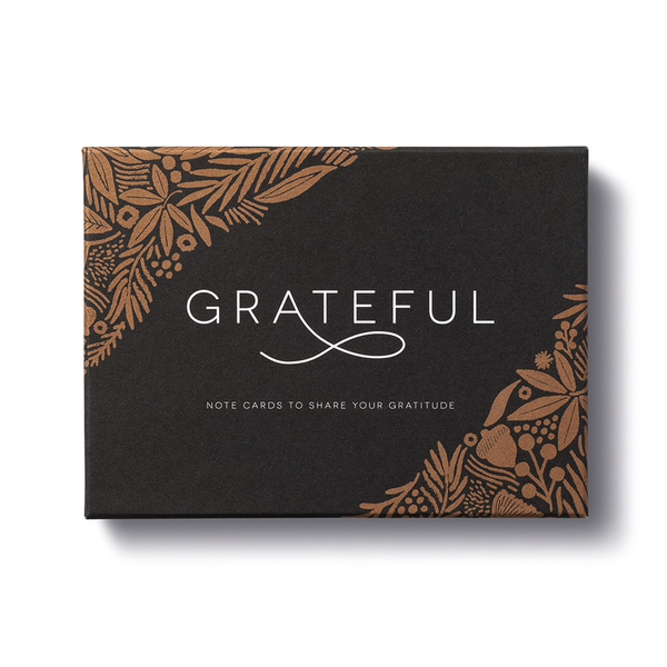 Note Cards - Grateful