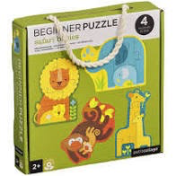 BEGINNER PUZZLE - SAFARI BABIES