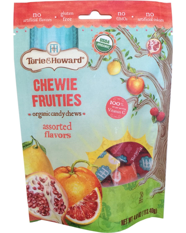 Torie & Howard Organic Fruit Chew Candy - Assorted Flavors