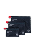 Travel Pouches Navy/Red