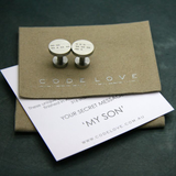 'MY SON' Cuff Links