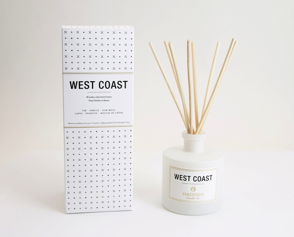 Vancouver Candle Co. West Coast Diffuser - Fir, Spruce, Oak Moss