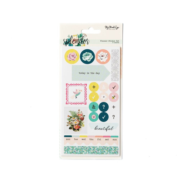 Splendor Planner Sticker Set