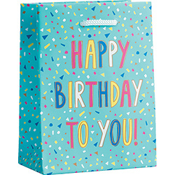 Birthday Confetti Foil Small Bag