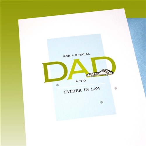 Father's Day Card - Father In Law