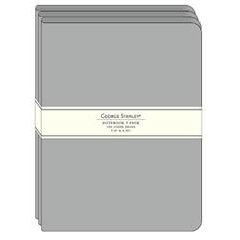 3 pack of Grey Journals