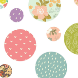 Fabric Decals - Polkadots (Pattern)