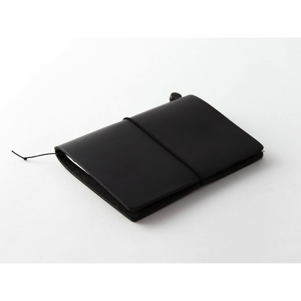 Traveler's Notebook PASSPORT SIZE Leather Cover - Black