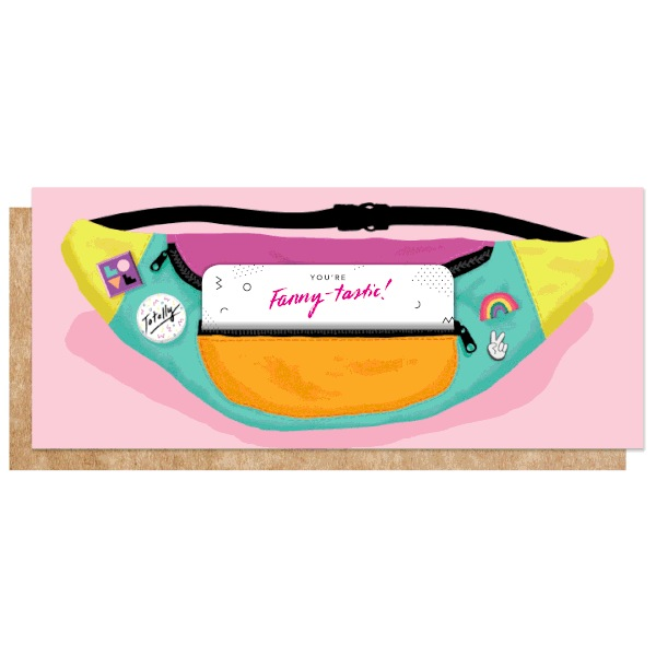Fanny Pack Cash/Gift Card Holder