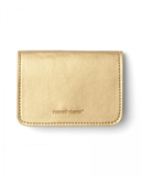 Vegan Leather Card Holder - Gold