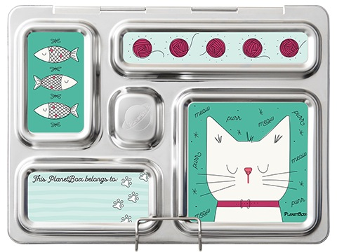 Rover Lunchbox Magnets - Cats
